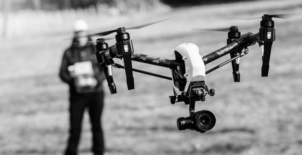 <b>Filmy i zdjęcia</b> z drona