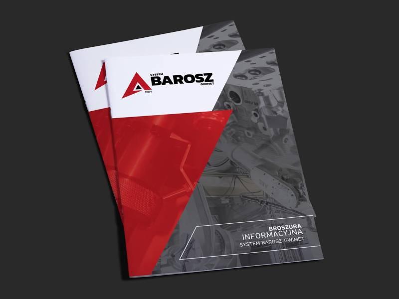 Folder reklamowy Barosz-Gwimet