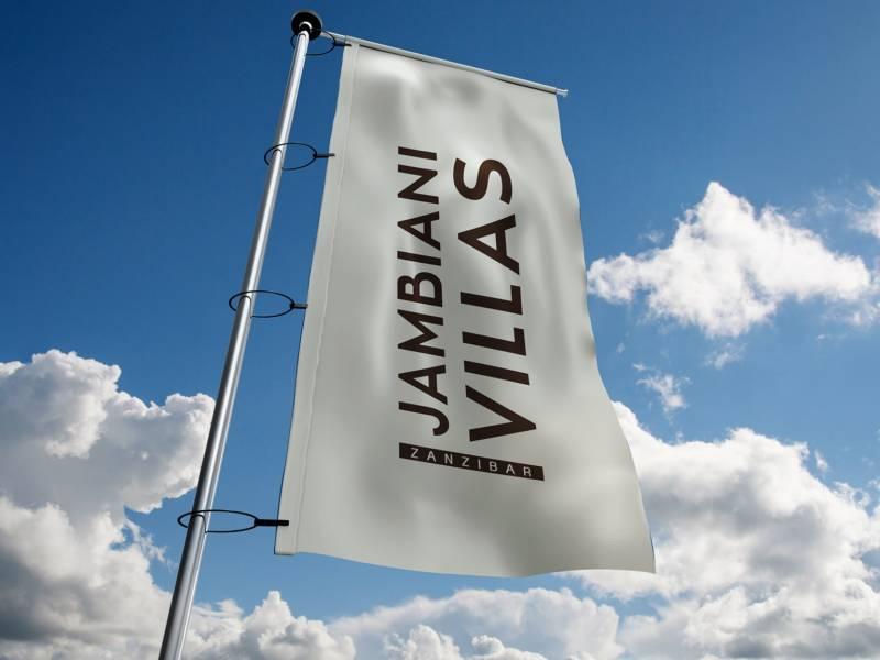 Flagi masztowe dla Jambiani-Villas