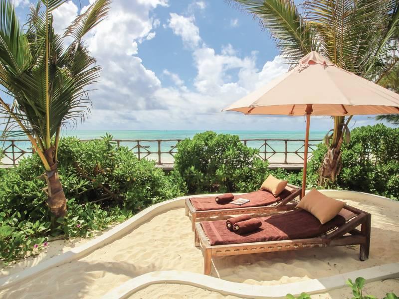 Jambiani Villas – strona internetowa