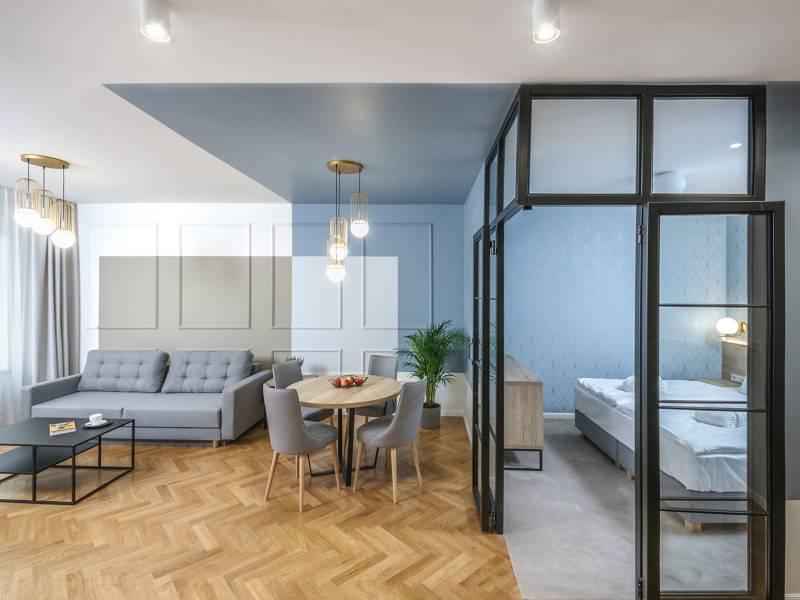 Sesja fotograficzna wnętrz apartamentów Ermine Suites